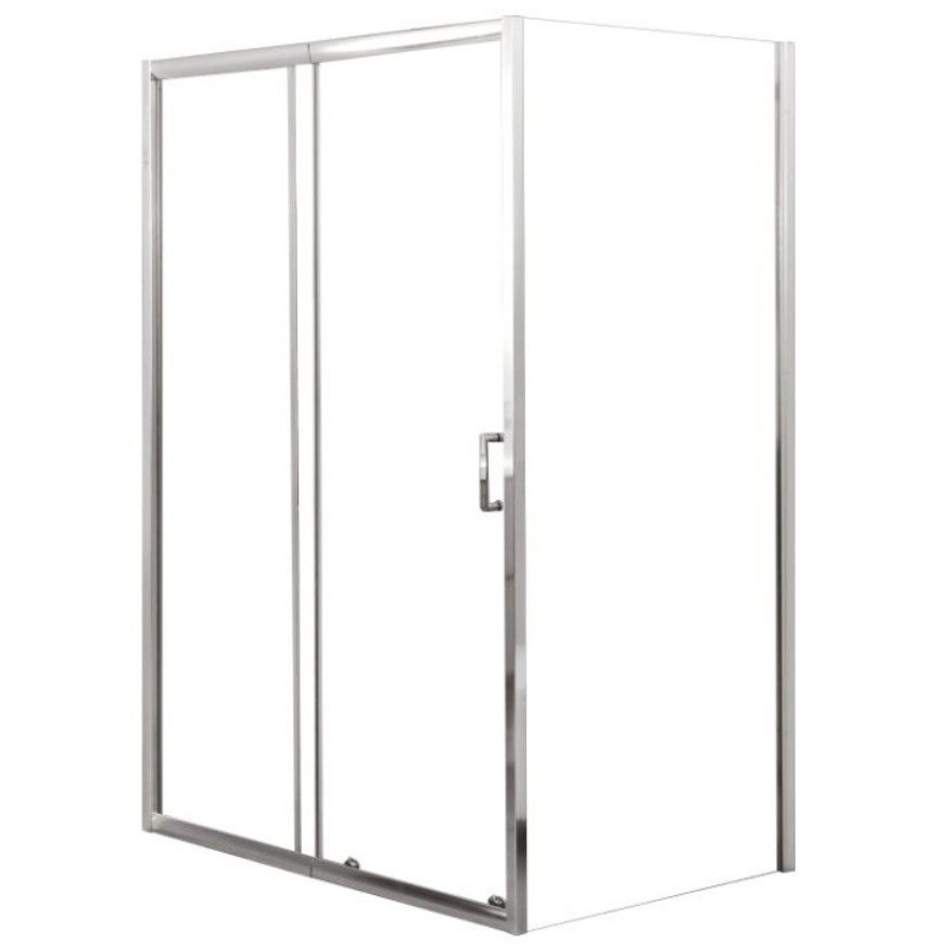 Душевой угол BelBagno UNIQUE-AH-1-110/125-90-C-Cr