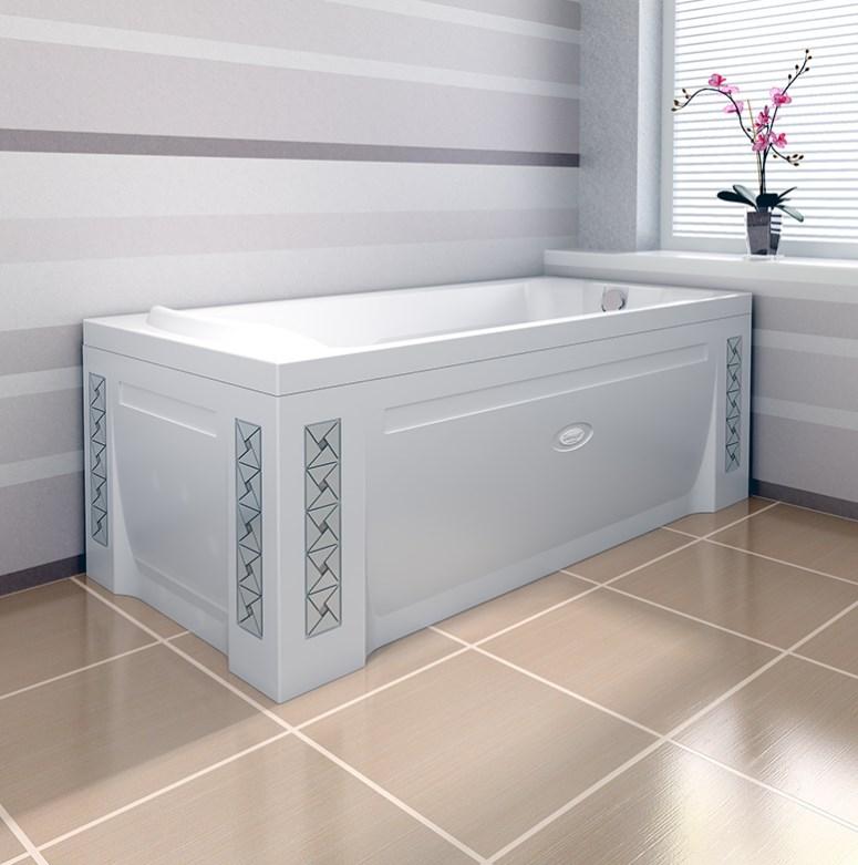 Акриловая ванна Radomir Ларедо Стандарт Bronze раковина для ванной мебели